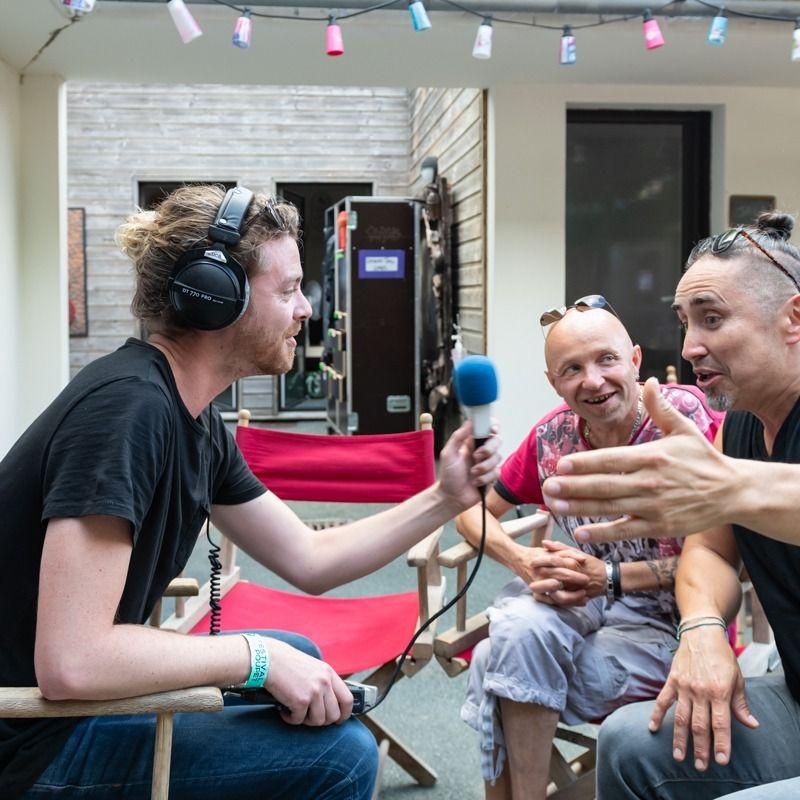 Tryo en interview avec Lucas au Festival de Poupet 2021