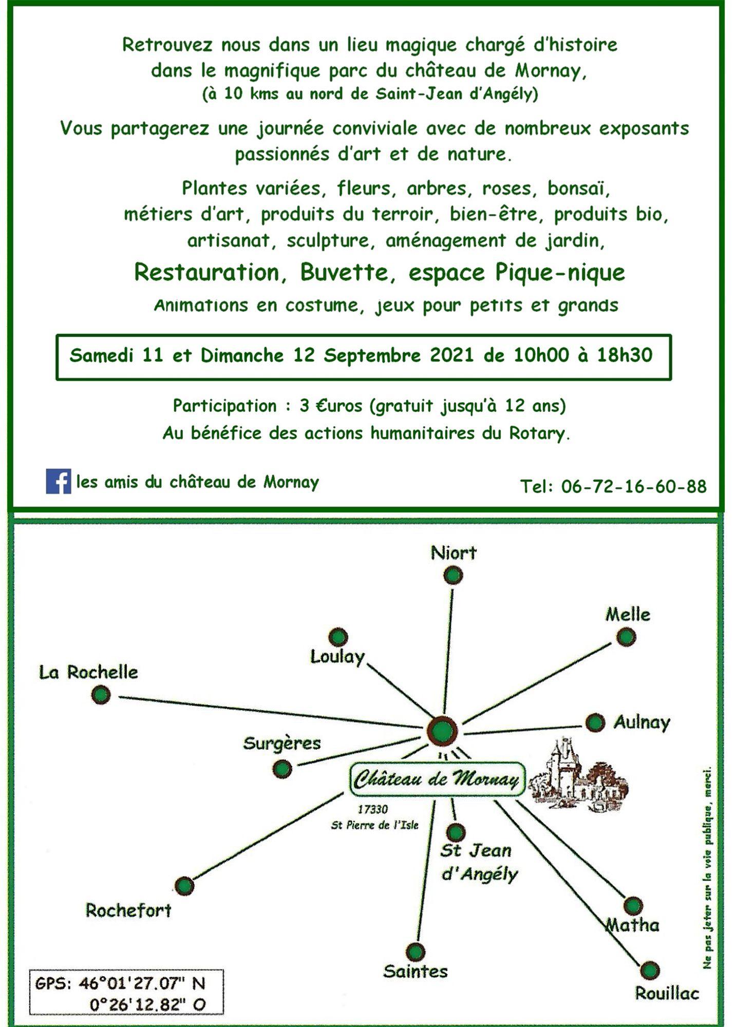 L'Agenda - Art et jardin à Mornay