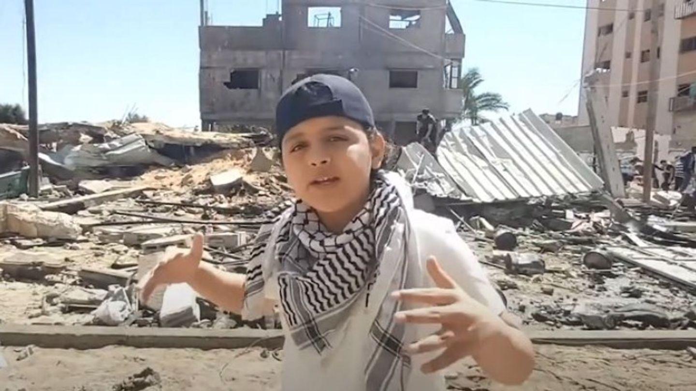 Un enfant palestinien reprend du Eminem pour appeler à la paix