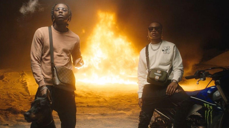 Koba LaD et Oboy incandescents pour le clip de « Cramé »