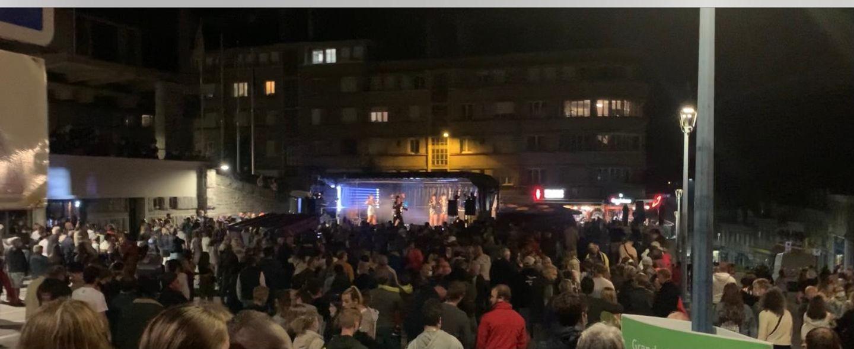Le bal populaire se déroulait dans un bon esprit jusqu'à ce que des gendarmes soient pris à partie.
