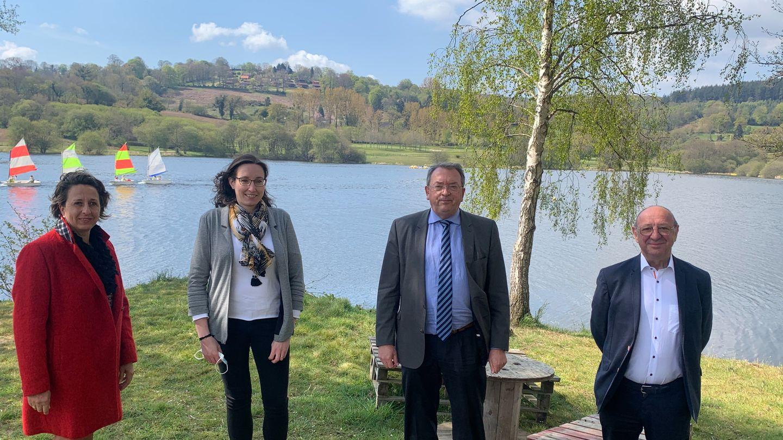 M. Andreu-Sabater et C. Brison-Valognes candidats aux départementales