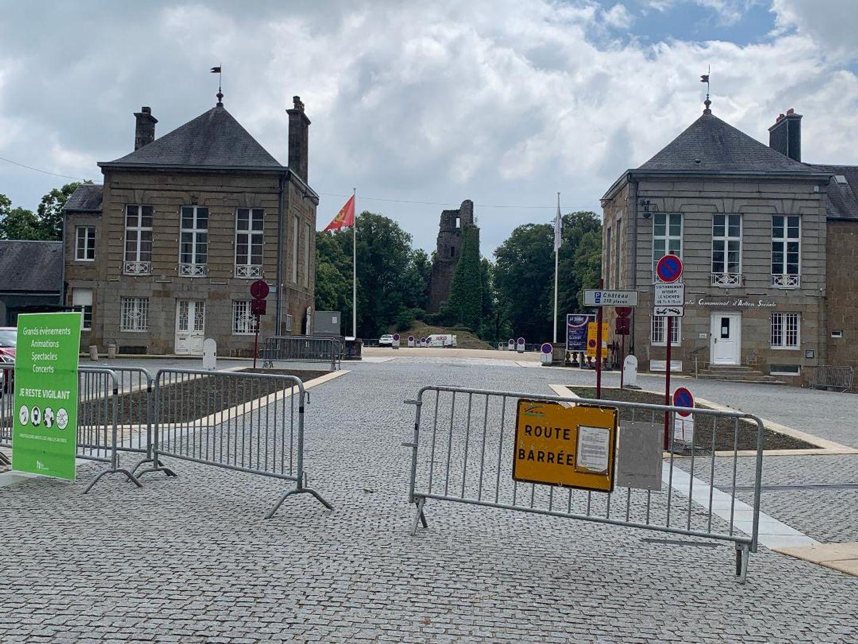 Le feu d'artifice sera tiré sur la place du Château.