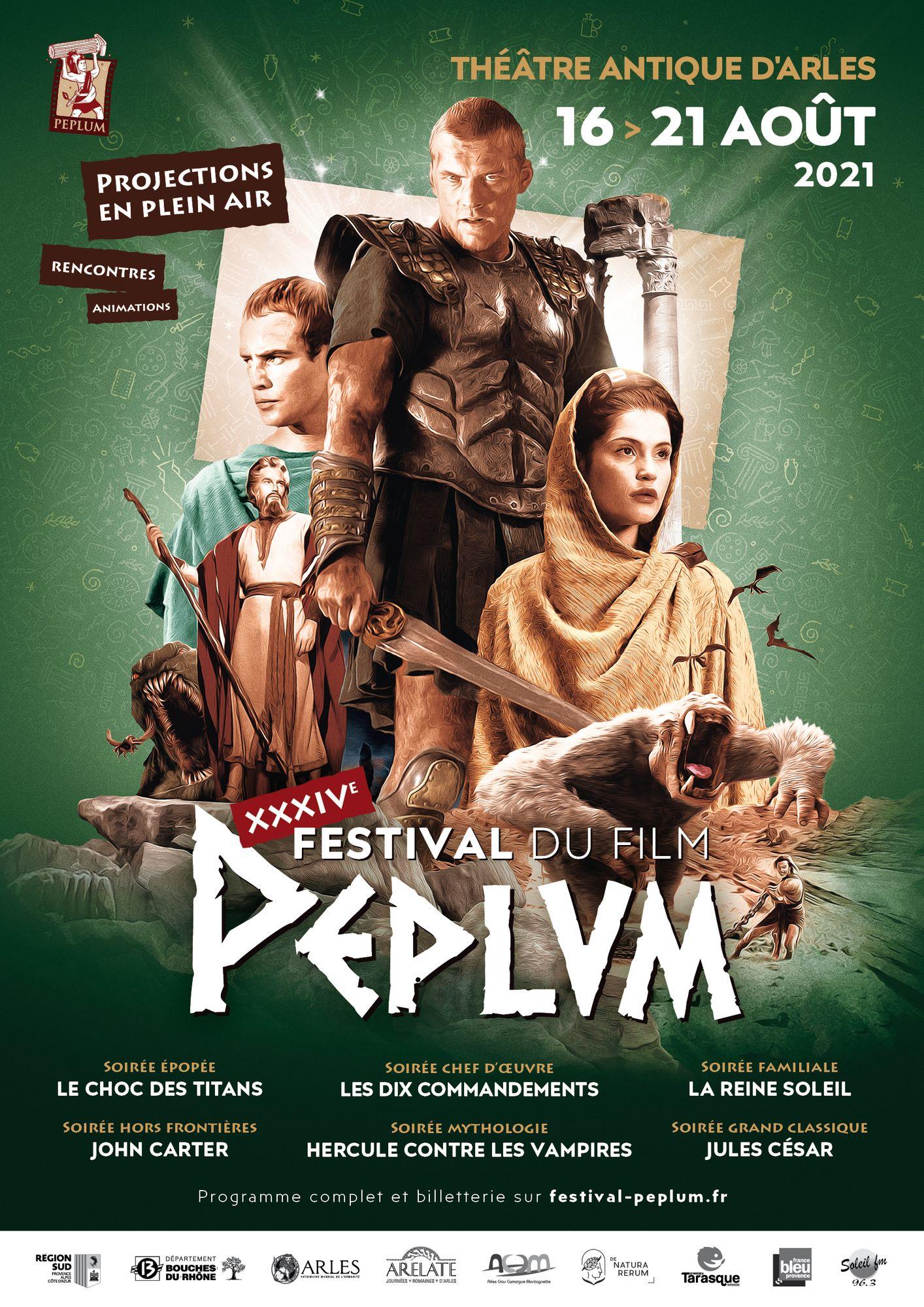 [ CULTURE/LOISIR ] Arles: Le Festival du film Peplum du 16 au 21 juillet