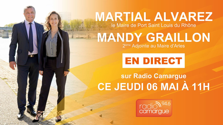 Martial Alvarez et Mandy Graillon