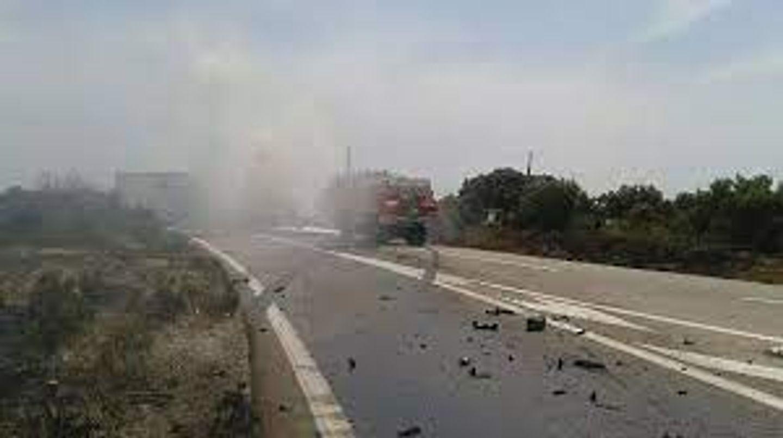 [ FAIT DIVERS ] Accident à Fos-sur-Mer: Un chauffeur poids-lourd héliporté