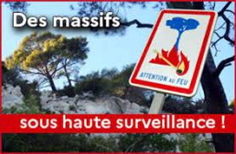 [ ENVIRONNEMENT ] Boûches-du-Rhône: Les Massifs en alerte incendie modérée
