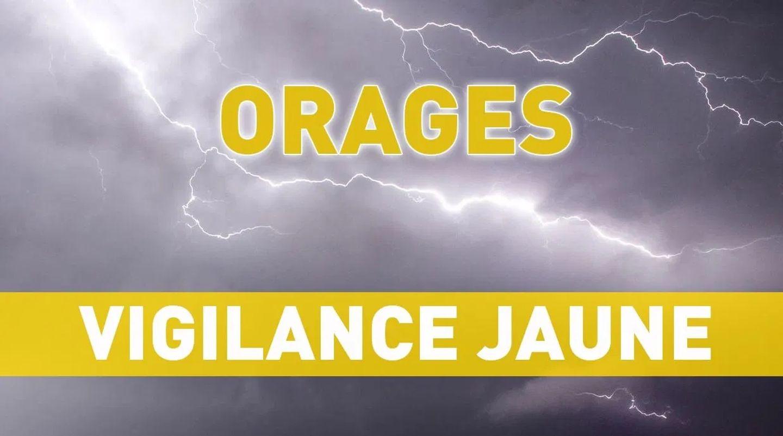 [ CLIMAT ] Gard: Département placé en vigilance jaune aux orages.