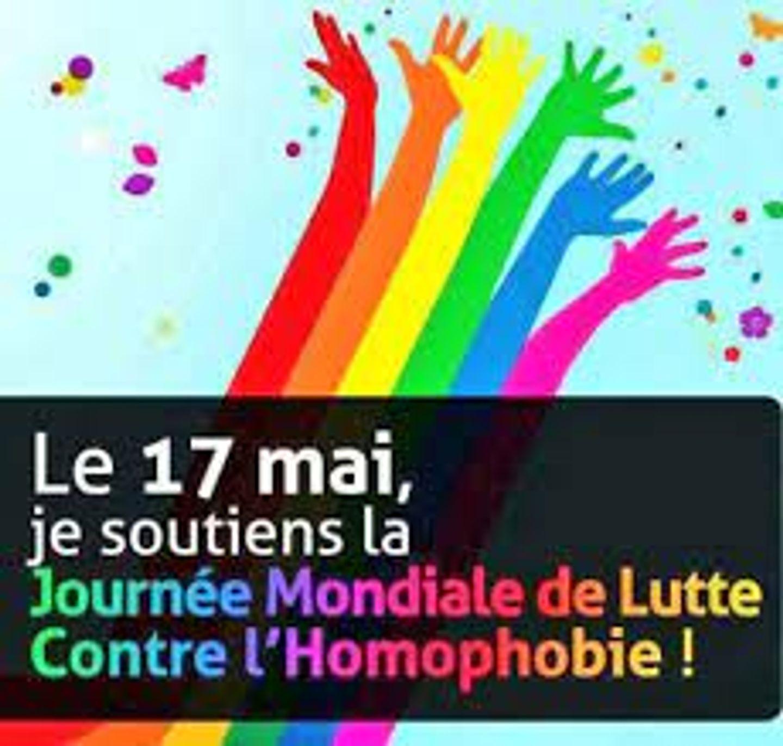 Ce lundi la journée mondiale de la lutte contre l'homophobie.
