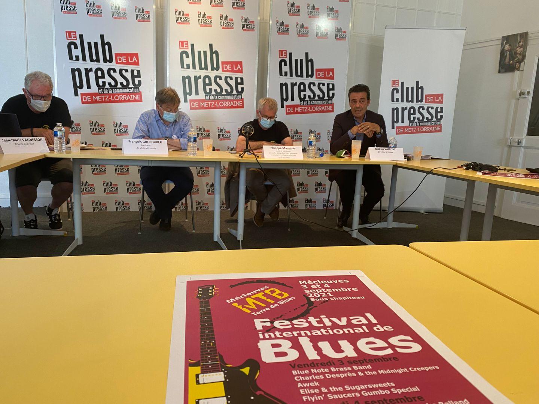 Musique: Retour du Festival 100% Blues de Mécleuves