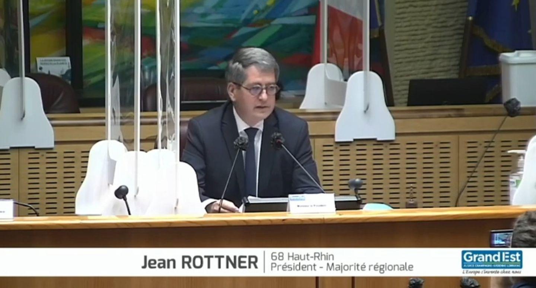 Rottner réélu Grand Est Metz