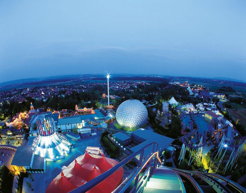Europa Park de nuit