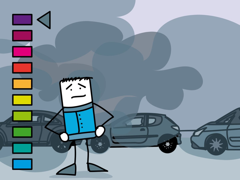 Pollution automobiles voitures
