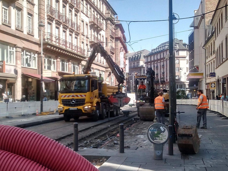 Eurométropole : travaux en série sur les lignes de tram de la CTS...