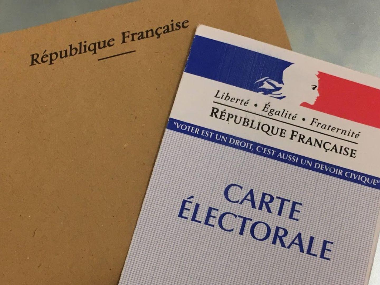 carte électeur enveloppe vote élection