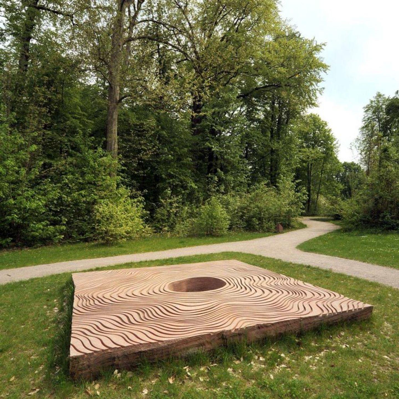 Stèle Parc Pourtalès Strasbourg