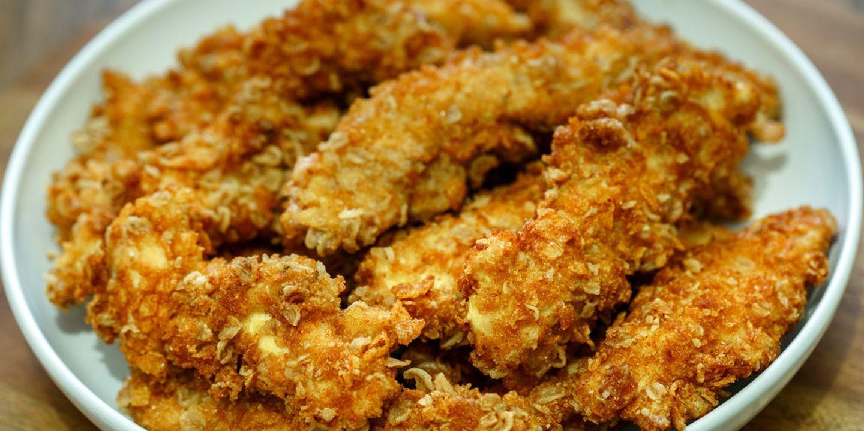 Escalopes de poulet panées sans gluten (avec cornflakes)
