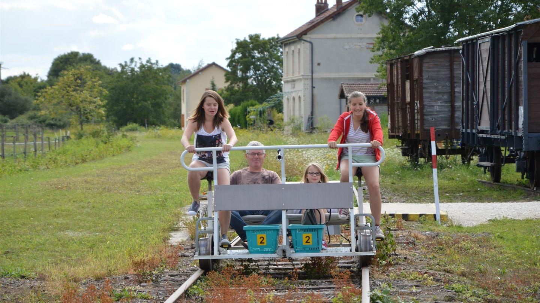 Le Vélorail de la Vingeanne sera fermé du 31 mai au 4 juin