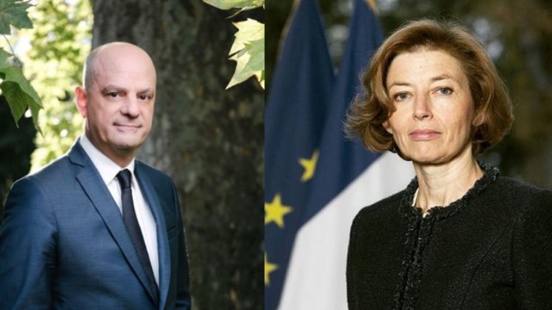 Jean-Michel Blanquer et Florence Parly à Dijon