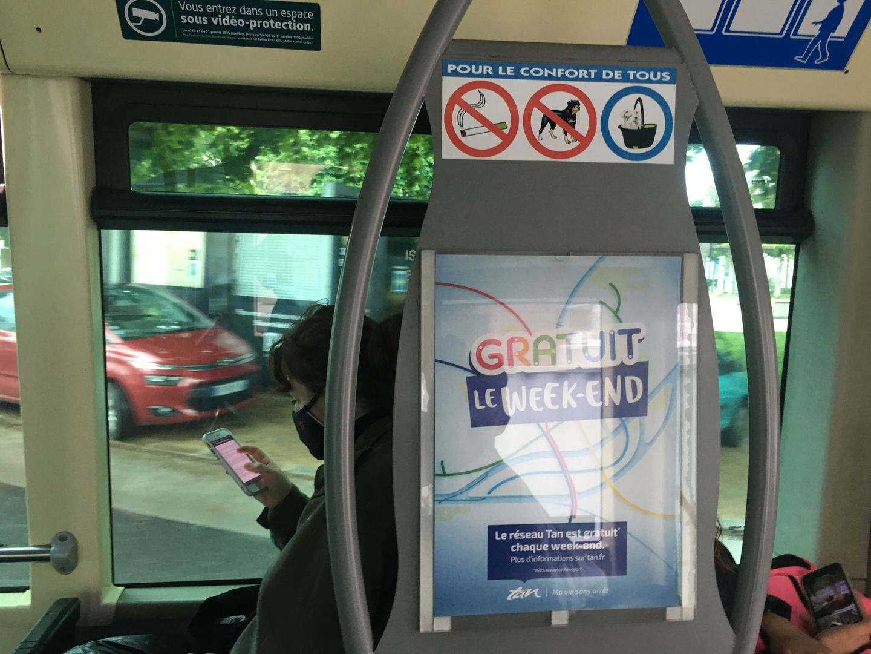 Transports gratuits à Nantes
