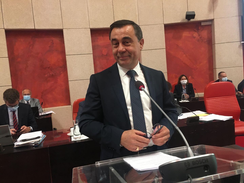Alain Leboeuf nouveau président du département de Vendée