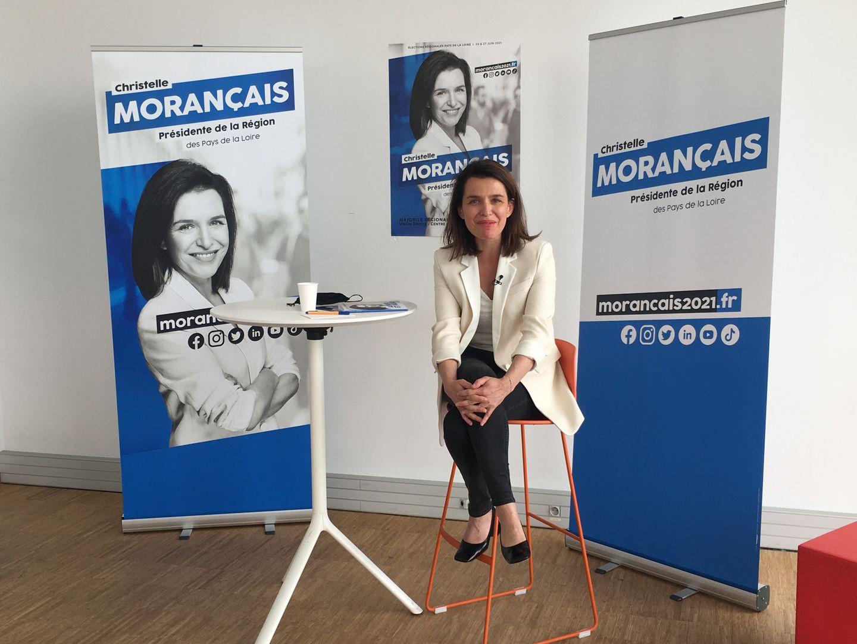 Christelle Morançais, présidente sortante du Conseil Régional des Pays de la Loire