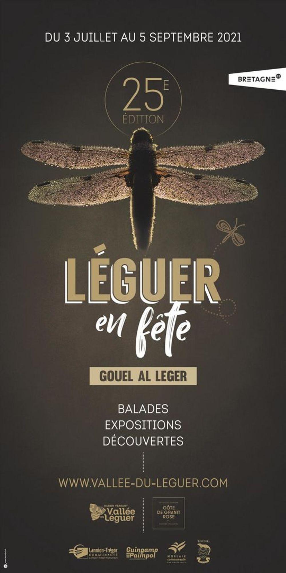 Affiche Leguer en Fete 2021