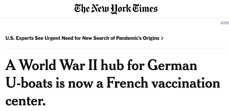 Lorient a les honneurs du New York Times