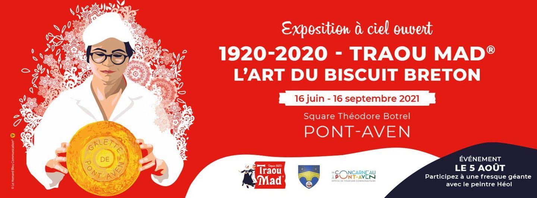Expo à ciel ouvert pour le centenaire de la biscuiterie Traou Mad