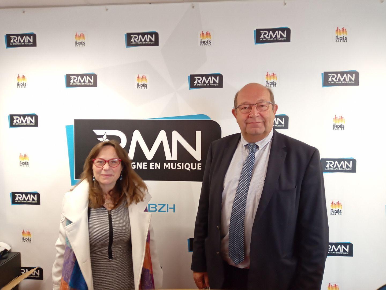 Ghislaine Langlet et René Le Moullec