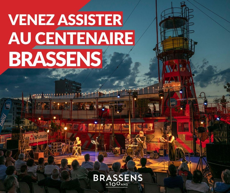 100 ans de Brassens sur le Roquerols