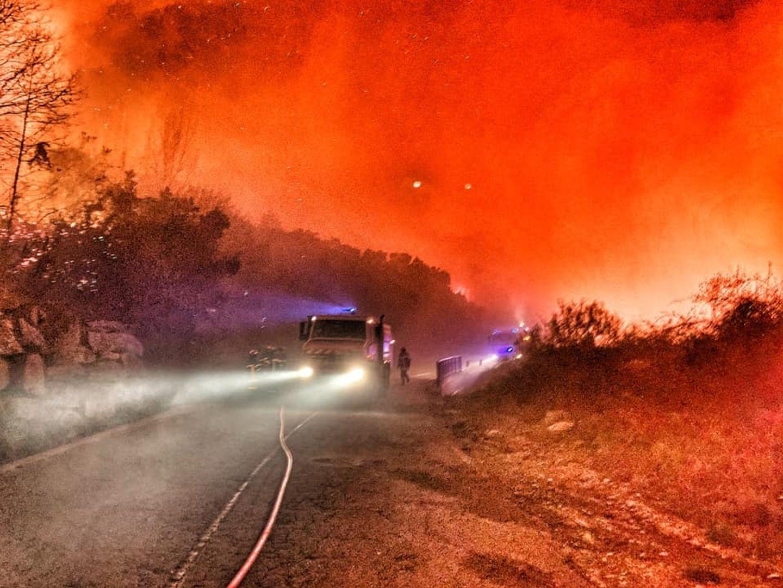 75 hectares détruits entre Néfiach et Millas
