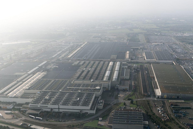 L'usine PSA de Rennes