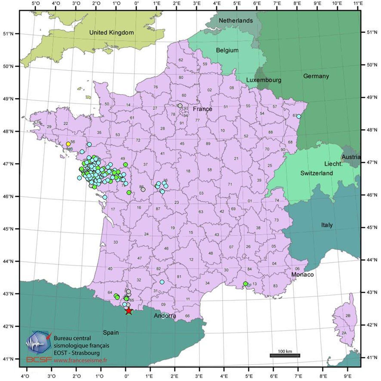 France Séisme