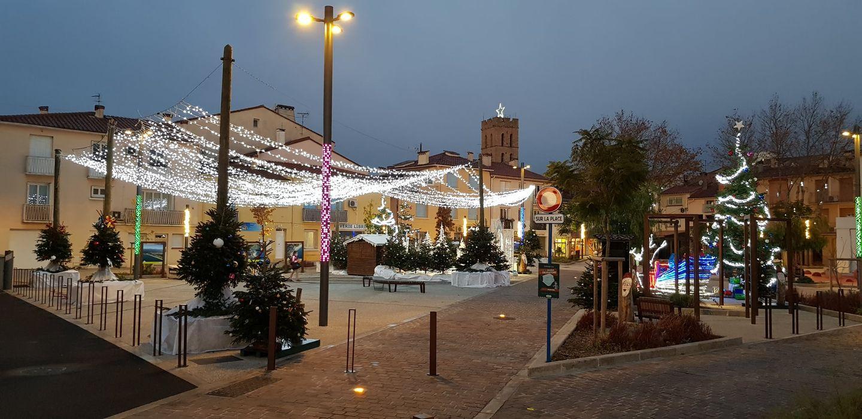 Fb d'Argelès tourisme // préparation du marché de Noël
