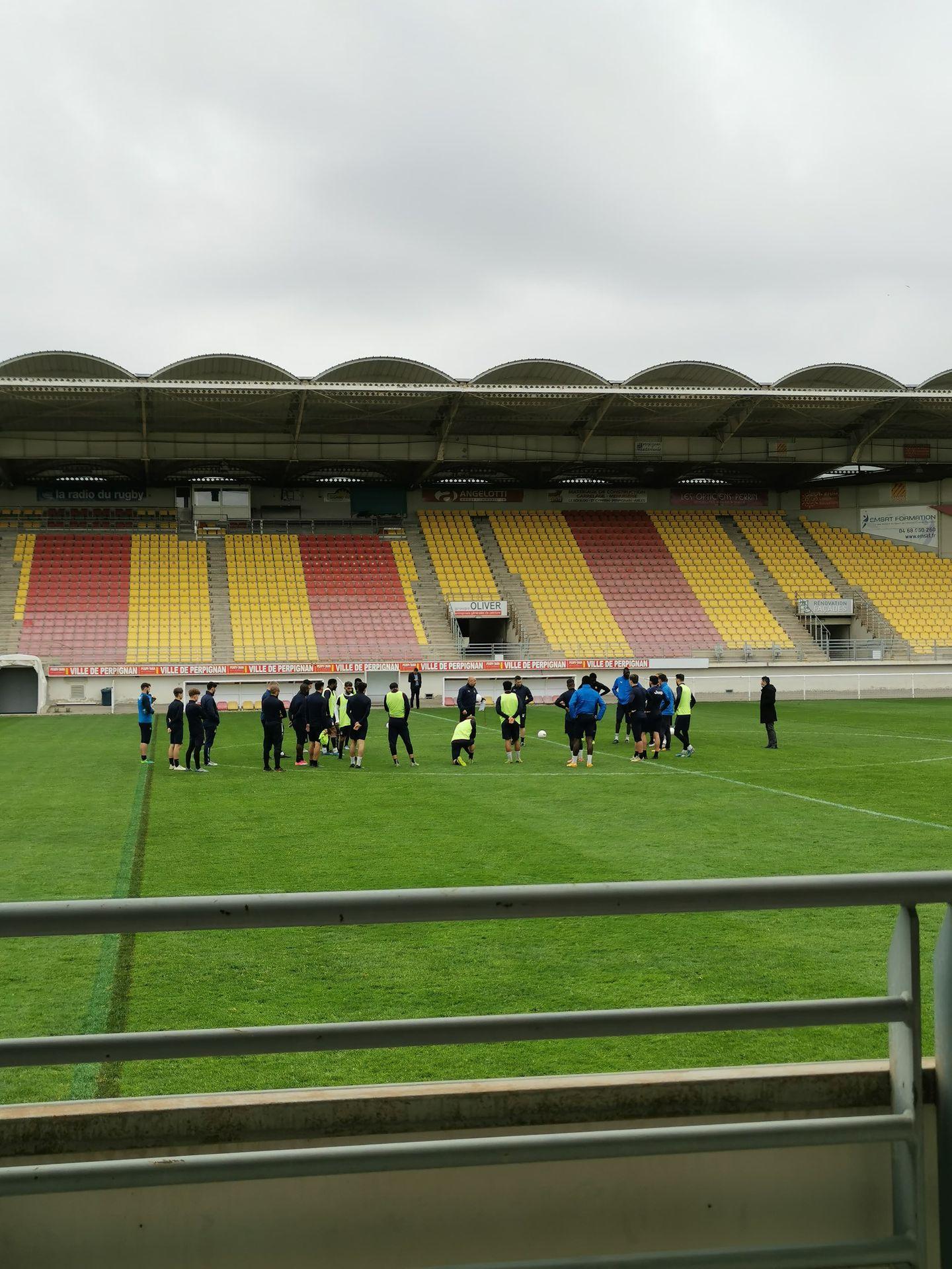 Le Canet RFC au stade Brutus