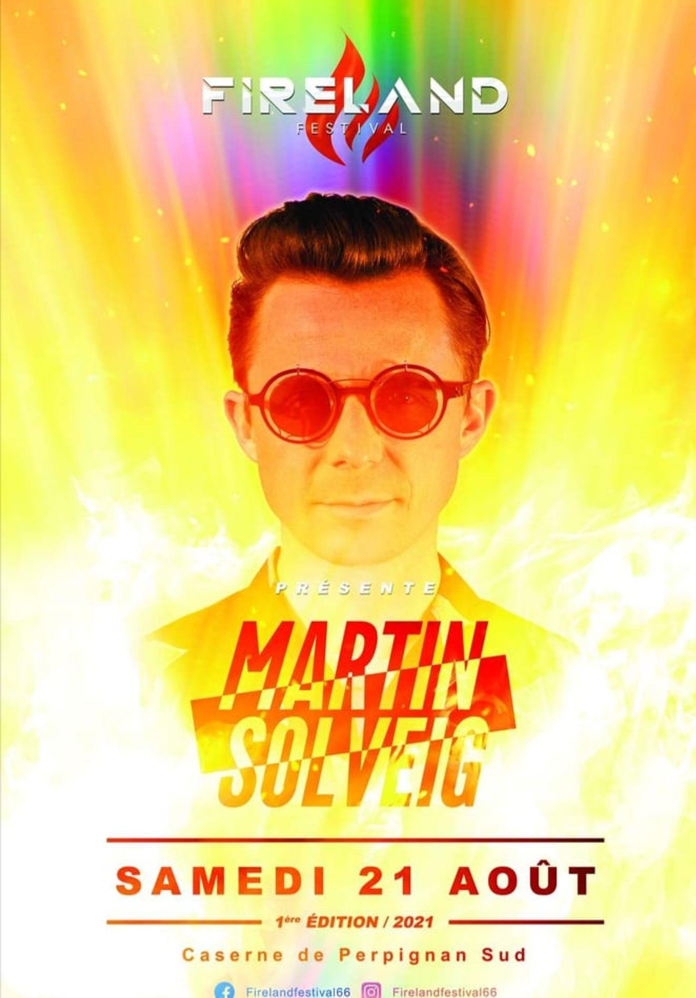 le dj français Martin solveig sera l'une des têtes d'affiche du Fireland