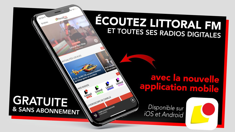 Application mobile Littoral FM