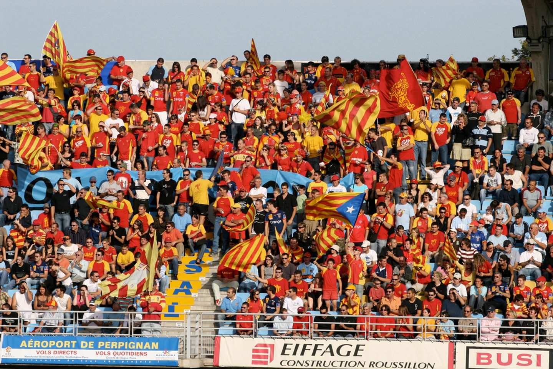 Supporters perpignannais