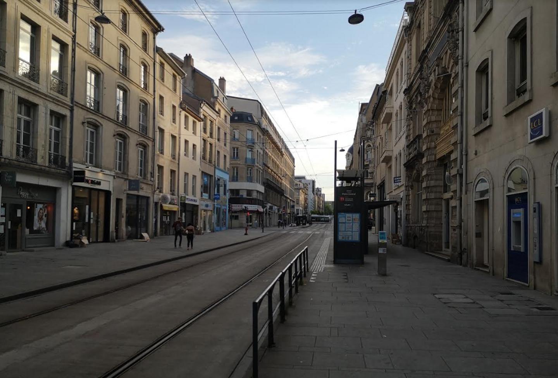Rue Saint Jean à Nancy