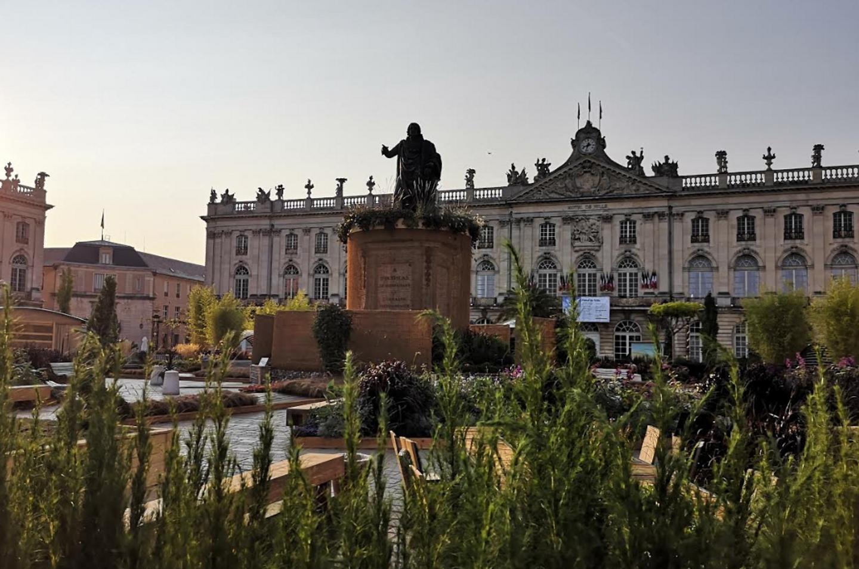 La Place Stanislas lors du Jardin éphémère 2020