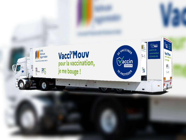 Sud-Alsace :  un centre de vaccination mobile se déploie durant...