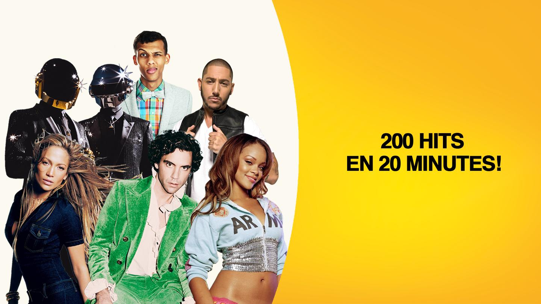 200 hits en 20 minutes - mix exclusif Hit West - 20 ans de hits de 2001 à 2020 dans un mashup inédit