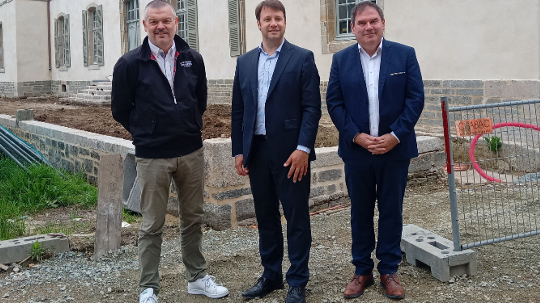 Jean-Luc Martin, Loïg Chesnais Girard et Christian Troadec