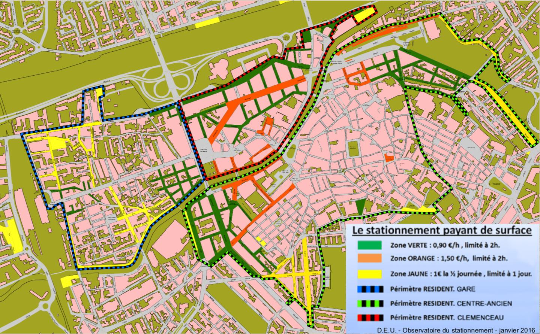 stationnement Perpignan