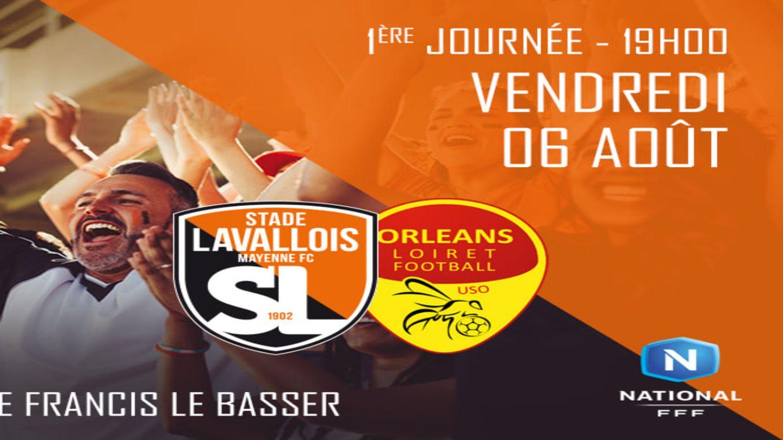 National : les gagnants pour Stade Lavallois - Orléans