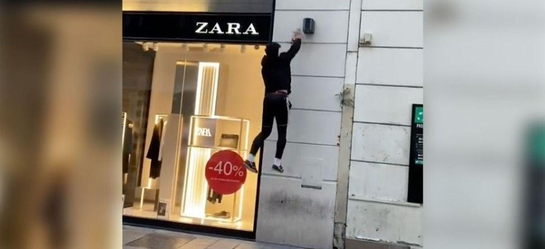 Deux jeunes font le buzz en éteignant les lumières des magasins la...