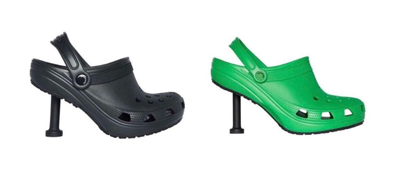 Une paire de Crocs à talons imaginée par Balenciaga affole la toile...