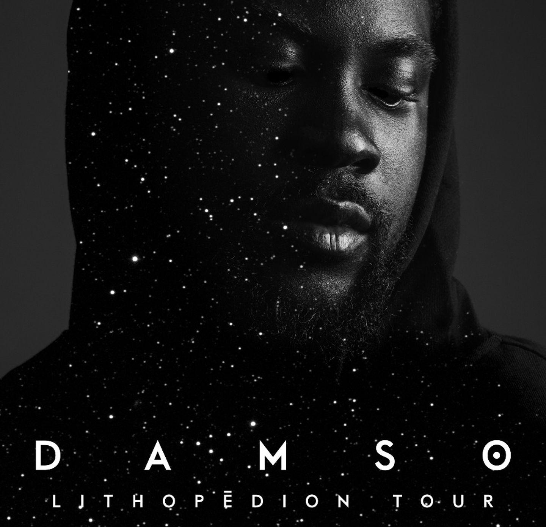 Gagnez vos places pour le concert de Damso à Bordeaux !