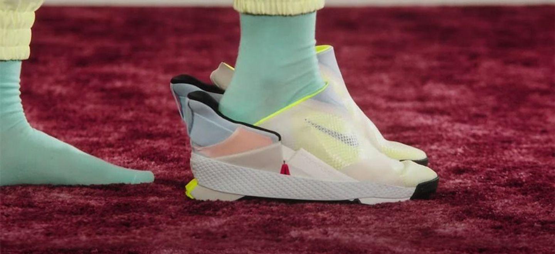 GO FlyEase : Nike présente les premières baskets enfilables sans...
